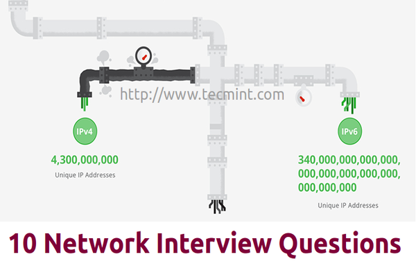 linux networking questions - Network Engineer Interview Questions And Answers