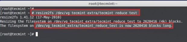 Resize File System