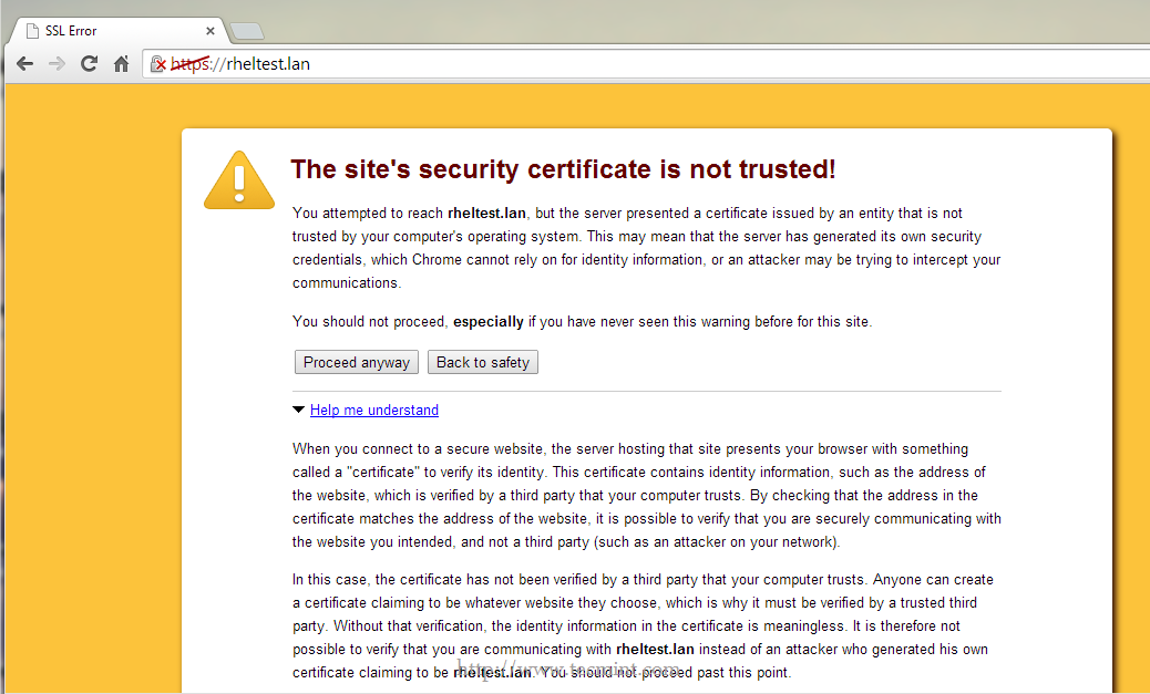 How To Create Self Signed Ssl Certificates And Keys For Apache On