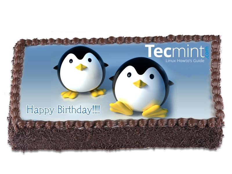 TecMint Celebrating 2nd Anniversary