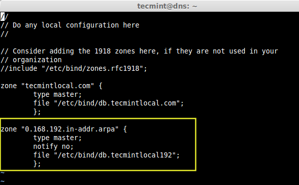 Create Reverse DNS