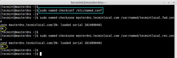 Check Errors Zone Files