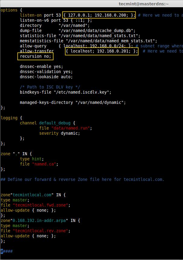 Create Zone File in DNS
