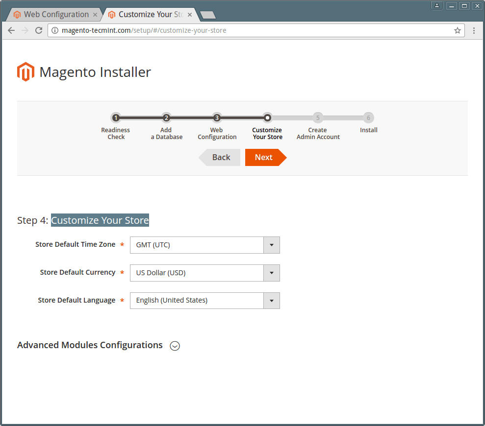 Customize Magento Store