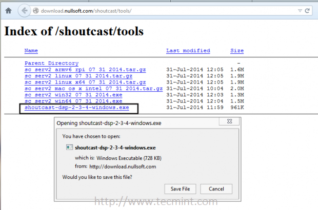 Download SHOUTcast DSP Plugin