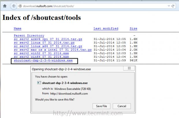 Download SHOUTcast DSP Plugin