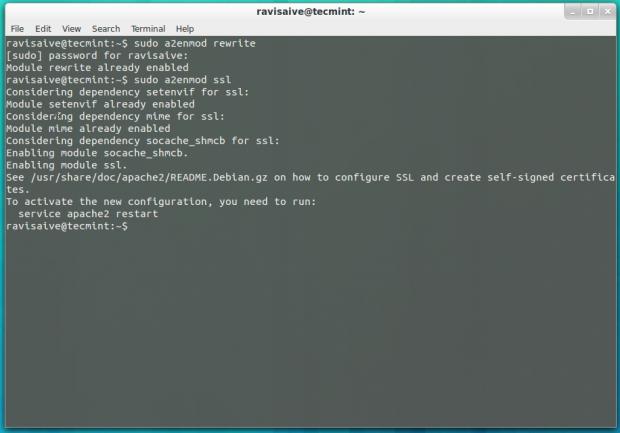 Enable PHP Modules in Ubuntu