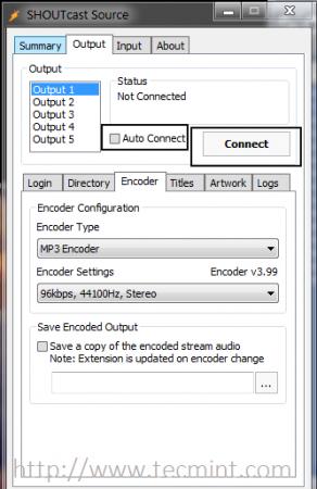 Encoder Configuration