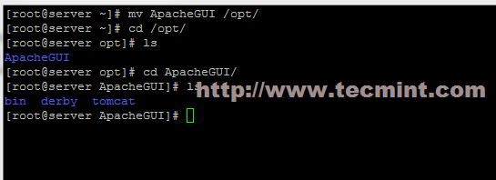 Extract ApacheGUI Archive