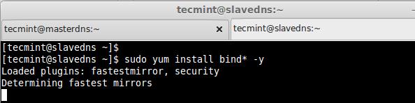 Install DNS Bind in CentOS
