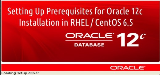 Setting Up Prerequisites for Oracle