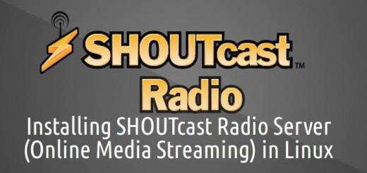Install Shoutcast Radio Server in Linux