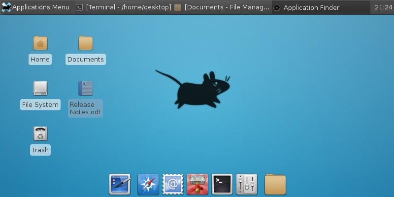 Lightweight Desktop GUI in Linux