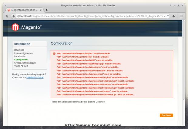 Magento Configuration