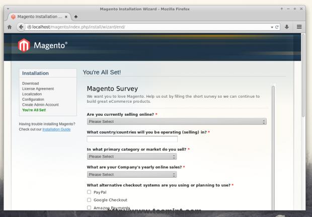 Magento Survey