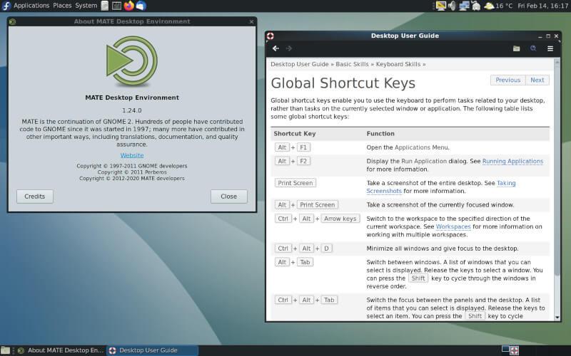 Mate Desktop Environment