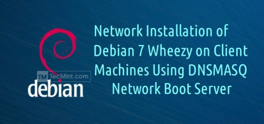 Network Installation of Debian 7