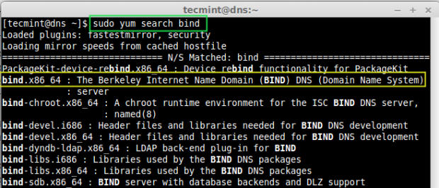 Search Bind Package