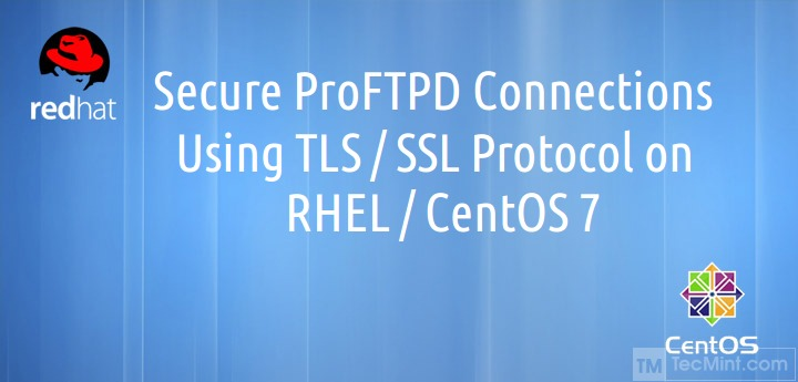 Enable SSL on ProFTPD in CentOS