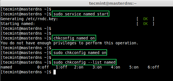 Start DNS Server