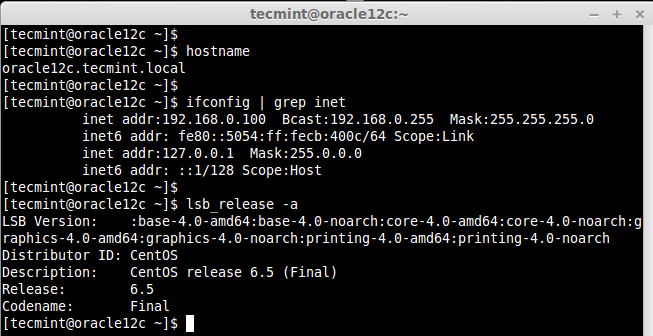 Setting Up Prerequisites for Oracle 12c Installation in RHEL