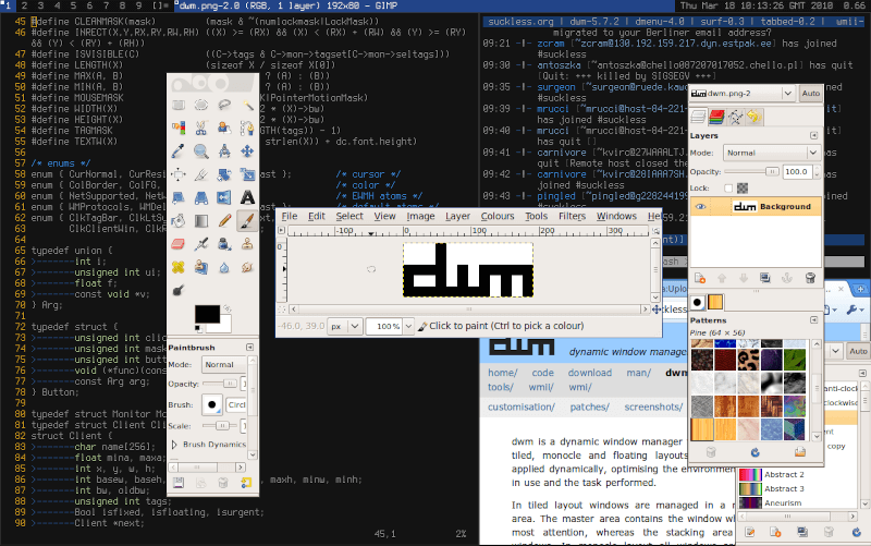 Dynamic Window Manager for X