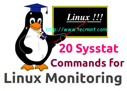 sysstat commands for linux monitoring