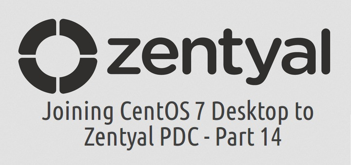 Add CentOS 7 to Zentyal PDC