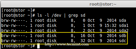 Check Hard Drives in Linux