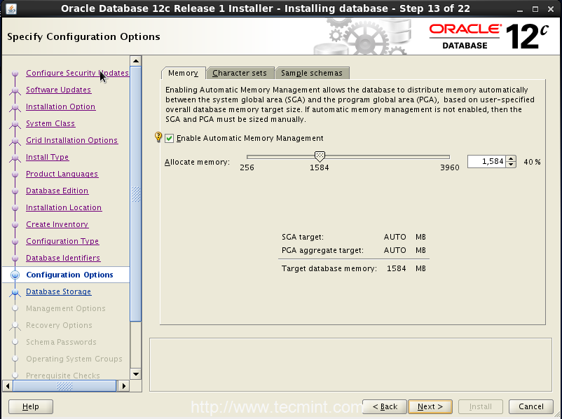 Installing and Configuring Oracle 12c in RHEL/CentOS/Oracle