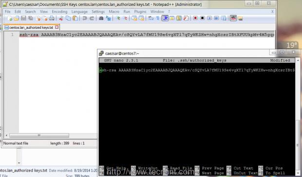 Copy SSH Key to Server
