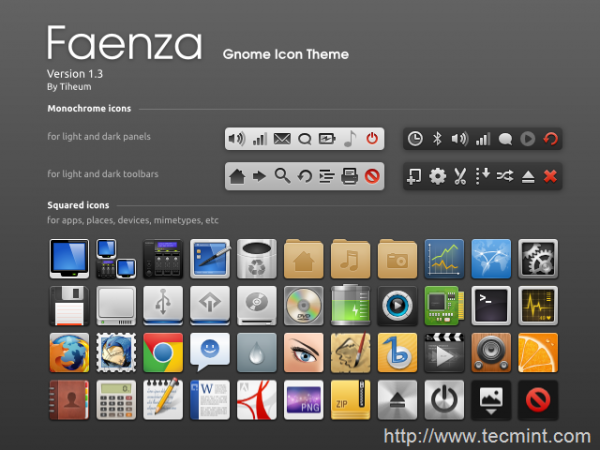 Install Faenza Icon Theme