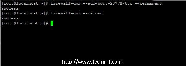 Open Log.io Port on Firewall