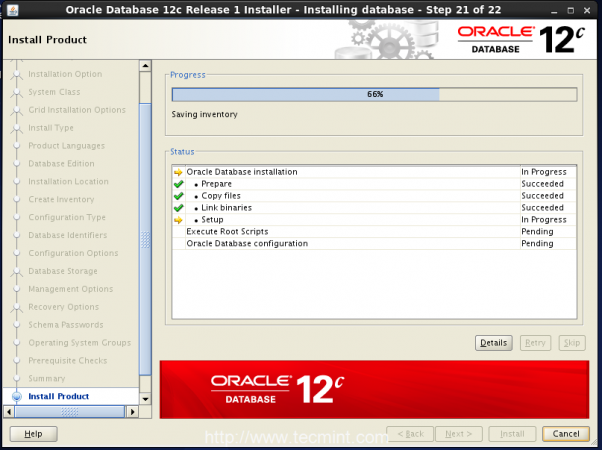 Oracle Installation Process