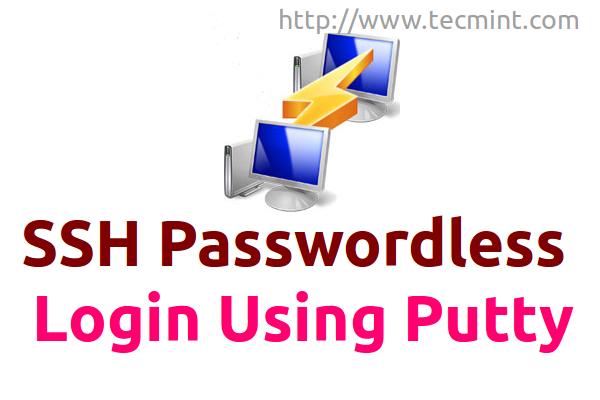 Putty SSH Passwordless Login