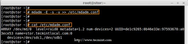 Save RAID Configurations