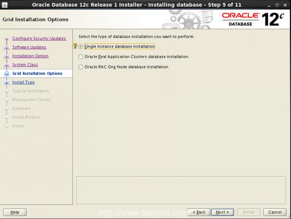 Single Instance Database