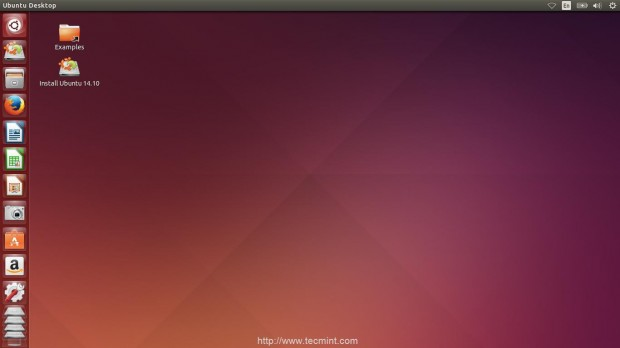 Installation of Ubuntu 14.10 Finishes