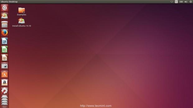 Installation of Ubuntu 14.10 Finishes