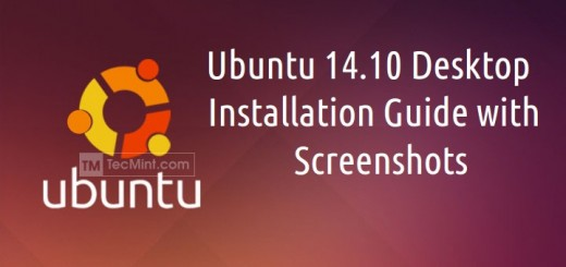 Ubuntu 14.10 Desktop Installation