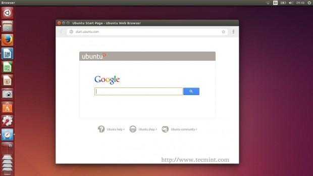 Ubuntu Web Browser