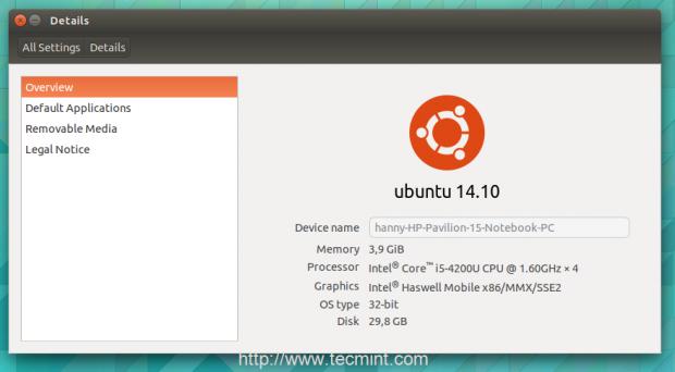 Upgraded to Ubuntu14.10