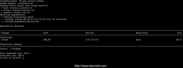 Install Vsftpd in CentOS