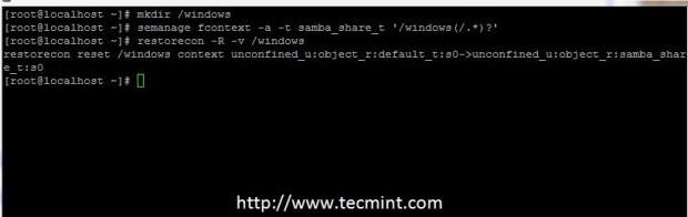 Add Samba Selinux Rules