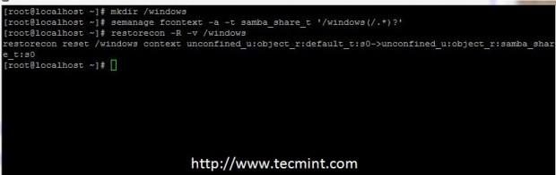 Add Samba Selinux Rules