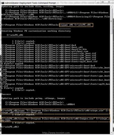 Build WinPE Image