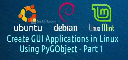 Create GUI Applications in Linux