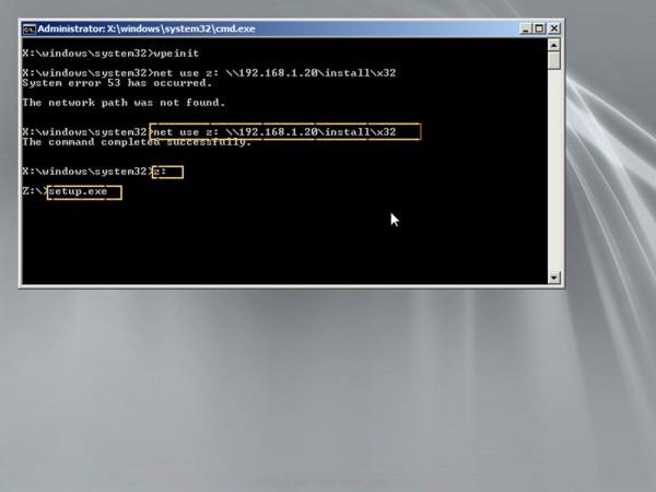 Enter Windows 7 Installation Source