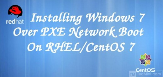 Install Windows 7 Over PXE in CentOS