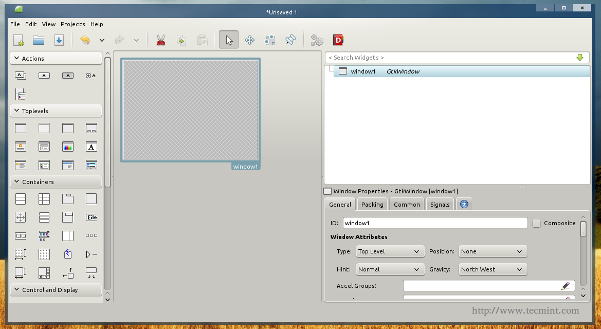 How to Create GUI Applications Under Linux Desktop Using